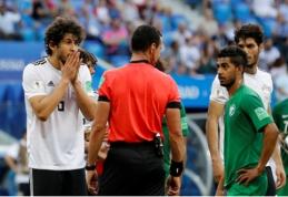 S. Arabijos pergalė - su keistu teisėjo sprendimu ir pergalingu įvarčiu paskutinę minutę (VIDEO)