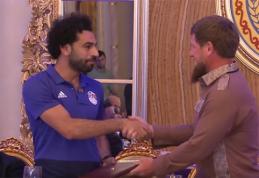 M.Salah tapo Čečėnijos garbės piliečiu (VIDEO)