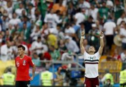Meksika įveikė Pietų Korėją ir yra arti aštuntfinalio (VIDEO)
