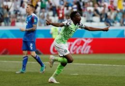 Šansas Argentinai: Islandija antrajame kėlinyje pralaimėjo Nigerijai (VIDEO)