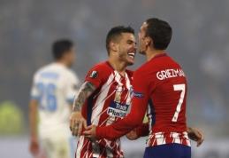 """Oficialu: A. Griezmannas ir L. Hernandezas pratęsė sutartis, T. Lemaras atvyksta į """"Atletico"""""""