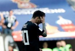 L. Messi: jaučiuosi kaltas dėl šių lygiųjų