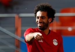 Egipto rinktinės treneris: esu 100 procentų tikras, kad rytoj M. Salah žais