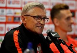 Lenkų treneris: Lietuva - mums vertinga varžovė (VIDEO)