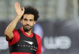 Dar neaišku, ar M. Salah galės žaisti prieš Urugvajų