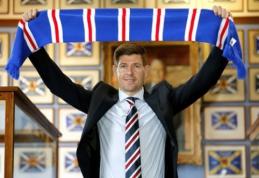 """A. Goramas: S. Gerrardas """"Rangers"""" turėtų  būti žaidžiantysis treneris"""