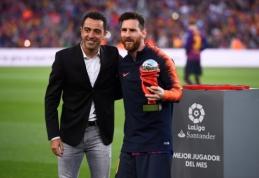 Xavi: jei L. Messi žaistų atraminiu saugu - jis būtų geriausias saugas pasaulyje