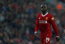 """S. Mane netrukus pratęs sutartį su """"Liverpool"""""""