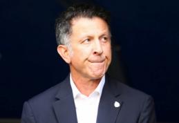 Išsiskyrė Meksikos rinktinės ir J. Osorio keliai