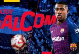 """Oficialu: """"Barcelona"""" iš po """"Roma"""" nosies nugvelbė Malcomą"""