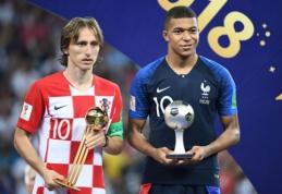 "K. Mbappe atskleidė favoritus laimėti ""Ballon d'Or"""