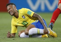Neymaras prakalbo apie perdėtas reakcijas po pražangos: manote, kad noriu kentėti pražangas?