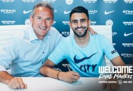 """Oficialu: """"Man City"""" už 60 mln. svarų sterlingų įsigijo R. Mahrezą"""
