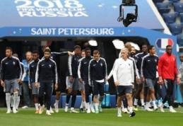 Kova dėl vietos finale: Prancūzija stoja į mūšį su Belgija (apžvalga)