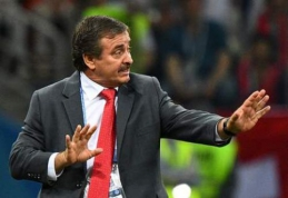 Rezultatais nusivylusi Kosta Rikos federacija atleido rinktinės trenerį