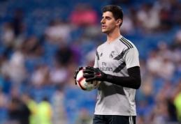 """T. Courtois šį savaitgalį greičiausiai sulauks debiuto Madrido """"Real"""" gretose"""