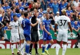 """""""Leicester City"""" nepateiks apeliacijos dėl J. Vardy raudonos kortelės (VIDEO)"""