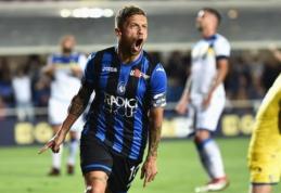 """""""Serie A"""": A. Gomezo vedama """"Atalanta"""" kaip reikiant pamokė lygos naujokus (VIDEO)"""