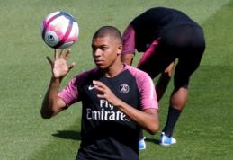 """Monaco"" vice-prezidentas: Perezas vis dar ant manęs pyksta dėl K. Mbappe"