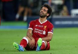 Telefonu už vairo naudojęsis M. Salah gali turėti nemalonumų