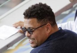 Plaučių uždegimą pasigavęs Ronaldo atsigulė į ligoninę