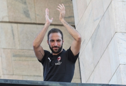 "G.Higuaino debiutas - šiandienos mače prieš ""Real"""