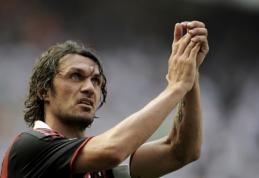 """Legendinis P. Maldini grįžta į """"Milan"""""""