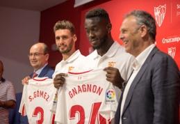 """""""Sevilla"""" užregistravo žaidėjus rungtynėms prieš """"Žalgirį"""""""