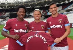 """""""West Ham"""" pasirašė bendradarbiavimo sutartį su """"Scope Markets"""""""