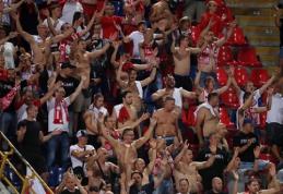 UEFA nubaudė rasistiniu išpuoliu pasižymėjusius lenkus