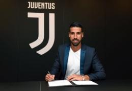 "S. Khedira pratęsė sutartį su ""Juventus"" klubu"