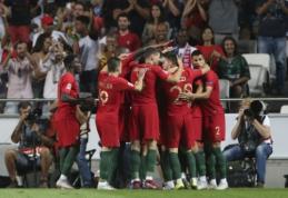 Vakarykštė portugalų pergalė prieš italus – vos antroji per šalių gyvavimo istoriją