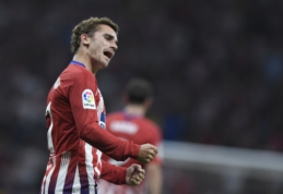 "A. Griezmannas: nesigailiu atmetęs ""Barcelona"" pasiūlymą"