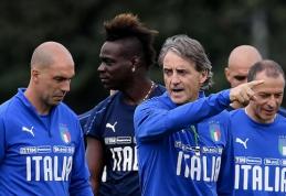 R.Mancini patvirtino italų sudėtį artėjančioms rungtynėms