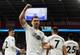 """Atsigaunantis """"Burnley"""" iškovojo antrąją pergalę """"Premier"""" lygoje"""