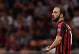 """Lygos naujokas neįkandamas: """"Milan"""" eilinį kartą prarado taškus, """"Sassuolo"""" įveikė SPAL"""