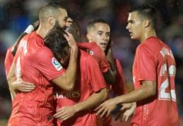 """Karaliaus taurė: """"Real"""" prisiminė triuškinančios pergalės skonį, """"Barca"""" varžovus įveikė per pridėtą laiką"""