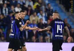 """""""Inter"""" į Barseloną išvyko be Nainggolano, Perišičius ir Brozovičius taip pat gali praleisti dvikovą"""