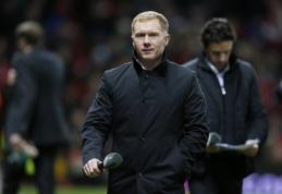 """P. Scholesas: """"Man Utd"""" vis dar reikia puolėjo"""