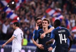 Vokietijos krachą Tautų lygoje pratęsė Prancūzijos rinktinė