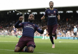 """A. Lacazette'as: """"Anglija neprilygsta Prancūzijai pagal stadionuose kuriamą atmosferą"""""""
