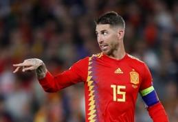 Ispanų nesėkmė prieš anglus pažymėta ekipos antirekordu