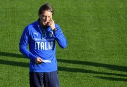 R.Mancini: pralaimėjimai Tautų lygos turnyre - nieko blogo