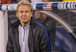 J.Klinsmannas: laukiu pasiūlymų tik iš ambicingų komandų