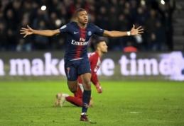 """A. Griezmannas: """"Mbappe žaidžia tarsi """"Man Utd"""" laikų Ronaldo"""""""