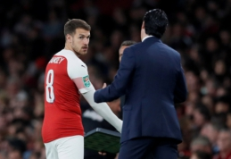 """""""Arsenal"""" surado saugą į A. Ramsey vietą"""