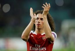 """Europos lyga: """"Arsenal"""" susitvarkė su """"Qarabag"""", """"Milan"""" nugalėjo """"Olympiakos"""""""