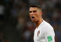C.Ronaldo neskuba grįžti į Portugalijos rinktinę