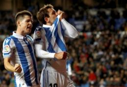 """""""Real Sociedad"""" namuose pranoko stringančią """"Celtą"""""""