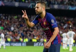 """J. Alba yra nustebintas, kodėl """"Barca"""" vis dar nepradėjo kalbėtis apie naują sutartį"""